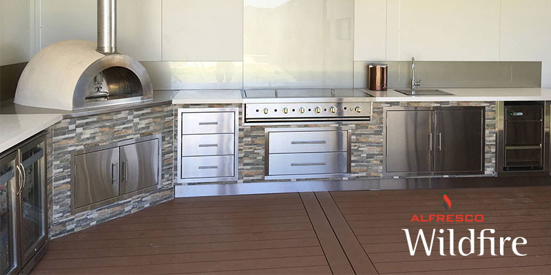 Wildfire Range Stainless Steel Front Arch The Alfresco Factory